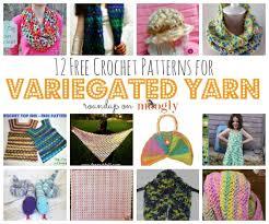 Variegated Yarn Crochet Patterns