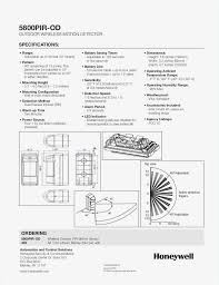 honeywell motion sensor wiring diagram fresh outdoor motion light