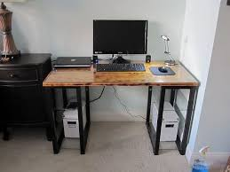 home office computer 4 diy. 20 DIY Desks That Really Work For Your Home Office Regarding How To Build A Computer Desk From Scratch Ideas 3 4 Diy