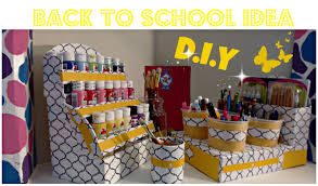 DIY Acrylic Paint Organizer - Nail Polish organizer - Back To School -  CARDBOARD IDEAS - YouTube