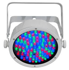 Chauvet Par 56 4 Light System Slimpar 56 Rgb Led Par Fixture In White By Chauvet Dj