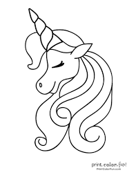 Our coloring pages are free and classified by theme, simply choose and print your drawing to color for hours! 100 Magical Unicorn Coloring Pages The Ultimate Free Printable Collection A Unicorn Coloring Pages Mermaid Coloring Pages Coloring Pages
