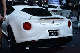 new car launches june 20142015 Alfa Romeo 4C Launch Edition Make US Debut  Automobile