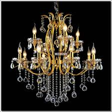meerosee classic 12 arms gorgeous gold crystal chandelier lighting re crystal suspension light for foyer lobby md8496 l8 4 chandeliers wrought iron