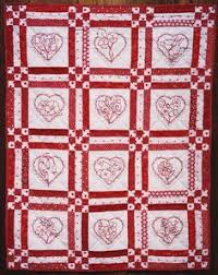 Quilt Inspiration: River City Quilt Guild - Day 4 ('Tis the Season ... & Quilt Inspiration: River City Quilt Guild - Day 4 ('Tis the Season!). I  love the redwork embroidery | Quilts | Pinterest | Rivers, Embroidery and  City Adamdwight.com
