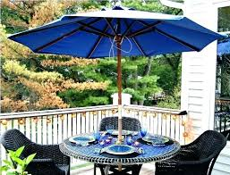 patio table with umbrella hole insert set making use plug ring for image of patio table umbrella