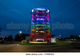 Auto Vending Machine Amazing USA Gaithersburg Maryland MD Carvana Auto Automobile Car Dealer