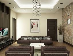 Modern Living Room Wall Decor Interior Nice Exposed Brick Wall Ideas And Decor For Dining Room