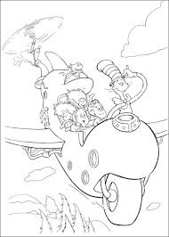 Small Picture Cat In The Hat Hat Coloring Page Free Coloring Cat And The Hat