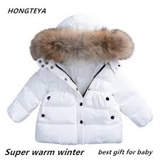 dropship baby winter clothes under ultra light baby girl warm jacket over 90 of hot