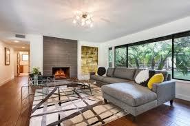 Mid Century Modern Living Room Furniture Living Room Mid Century Modern Eclectic Living Room Brown Oak