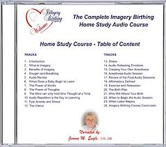 Birth Plan Introduction Amazon Com Imagery Birthing Complete Natural Childbirth Home Study