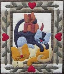 applique cat quilts - Google Search | Quilting and patchwork ... & applique cat quilts - Google Search Adamdwight.com