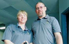Heather and Jeff Fields of Assista Property Services.George Mathewson - The  Sarnia Journal