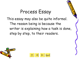 different types of essays  11 process essay