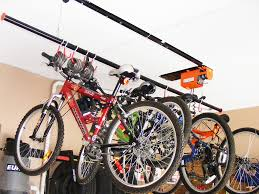 ceiling bike rack for garage