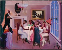 tails about 1926 by archibald motley museum of fine arts