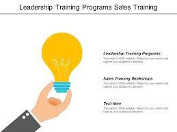 Sales Training Template Leadership Training Programs Sales Training Workshops B2b