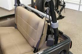 rock hard 4x4 8482 rear seat harness bar for jeep wrangler tj 1997 2006 rh 1001 j