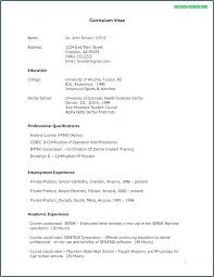 Modern Resume Pdf Sample Curriculum Vitae Template Of Modern Resume
