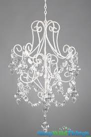 make your own chandelier elegant keiki sparkling silver crystal ornament hanger