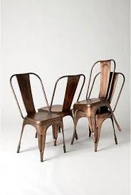 copper brushed chairs anthropologie 198