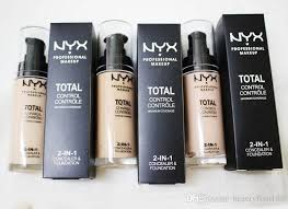 nyx professional makeup foundation nyx total control maximum coverage 2 in 1 foundation concealer face beauty cosmetics dhl isaac asimov foundation juvenile