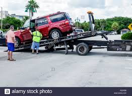 Flatbed Trailer Lights Flatbed Towing Truck Stock Photos Flatbed Towing Truck