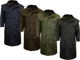 details about midland long waterproof trench coat outdoor riding cape mens womens
