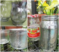 you can transform just about any clear glass with this easy diy mercury glass tutorial