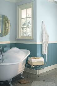 Two Tone Bathroom Tile Designs Cool Two Tone Blue Bathroom Colors Idea Combined With White