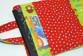 kid s crayon coloring book carrier