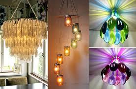 diy lighting ideas the chandelier