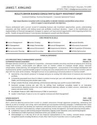 Business Development Executive Resume Best Resume Format For