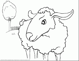 Small Picture Excellent jesus lamb of god coloring page with sheep coloring page