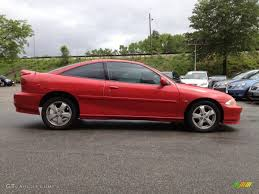 Bright Red 2002 Chevrolet Cavalier Z24 Coupe Exterior Photo ...