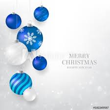 blue and white christmas background. Interesting Blue Christmas Background With Blue And White Baubles Elegant  Light On Blue And White Background H