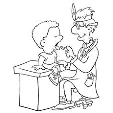top  free printable community helpers coloring pages onlinethe dentisd