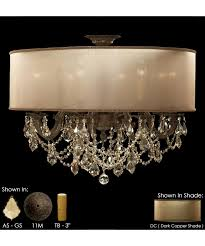 american brass and crystal fm6541 llydia inch wide semi flush enchanting acryliclier strands cleaner repurposing projects