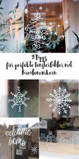 9 Tipps Für Fensterbilder Mit Kreidemarkern Weihnachtsdeko