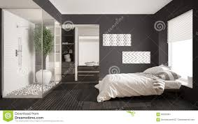 Bed And Bath Designs Minimalist Bedroom And Bathroom With Shower And Walk In