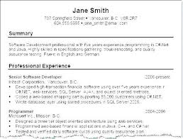 Good Summary For Resume Fascinating Good Summary For A Resume Awesome Ability Summary For Resume Awesome