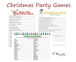 Funny Christmas Party Game Ideas | Jobs Online