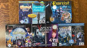 Here are the top free hidden object games for pc for 2020, including violett, mystery castle: Lot 5 Pc Cd Rom Hidden Object Video Games Vampire Mansion Haunted Hotel More Ebay