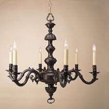 engaging rustic candle chandelier antique