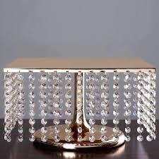 square wedding cake stand bejeweled gold square crystal pendants metal chandelier wedding cake stand square wedding