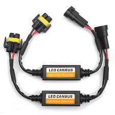 2pcs h11 car led headlight fog lamps error warning canceller 2pcs h11 car led headlight fog lamps error warning canceller capacitor load resistor canbus decoders
