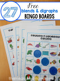 Consonant Blend Chart Printable Help Your Child Learn Beginning Blends And Digraphs With