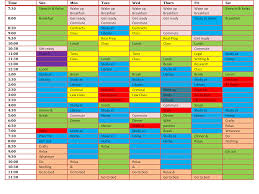 how to make a law school study schedule study routine picture