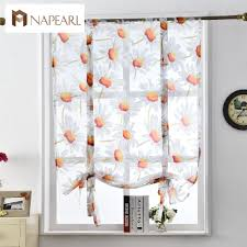 Kitchen Window Curtain Panels Kitchen Window Panels Promotion Shop For Promotional Kitchen